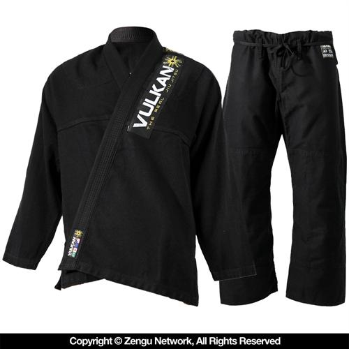 Vulkan Vulkan Pro Light Black BJJ Gi